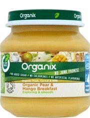 Organic Pear and Mango Breakfast | Organix Brands Ltd.