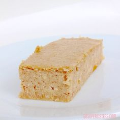 Apple Cinnamon Spice Protein Bars ~ one of the most delicious recipes in our Healthy Little Book of Protein Bars  Bites. These taste like a piece of spice cake, no joke! Available at GoSuperSisters.com/ebooks