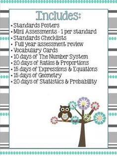7th Grade Math Common Core Complete Resource Bundle Awesome!