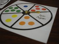 making a game spinner that works