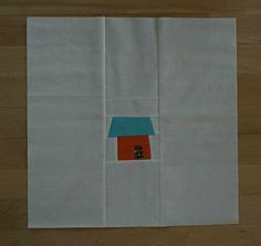 Mod House Block by Crazy Mom Quilts.