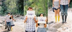 one of the coolest engagement shoots every by Caroline Tran