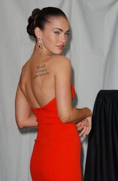 Tatoo de Megan Denise Fox