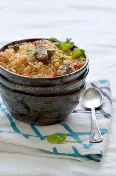 Locrio de Pica-Pica (Rice and spicy sardines)
