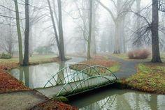 garden bridg, garden structur, small gardens, small bridg