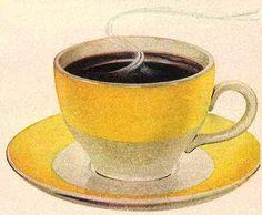Yellow cup of joe