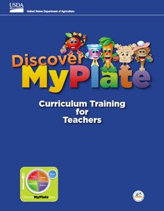 #TEACHERS – learn how to integrate #MyPlate into lessons for #kindergarteners! #B2S #DiscoverMyPlate #TeamNutrition #educators