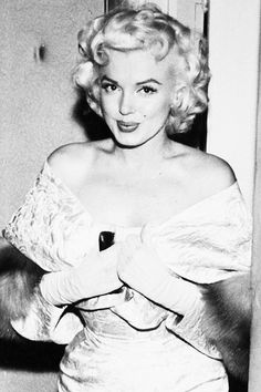 Marilyn Monroe at the premiere for East of Eden, 1955