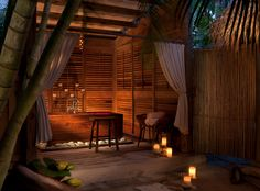 What could make a five-acre private island in the Florida Keys that's only accessible by boat or seaplane more exclusive? Your own bamboo outdoor shower.