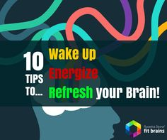 10 Tips to help you Wake Up, Energize, and Refresh Your Brain on those early weekday mornings! http://wp.me/p3Verf-Oc #health #tips #brain #energy #mind