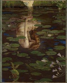 Ophelia #art #painting