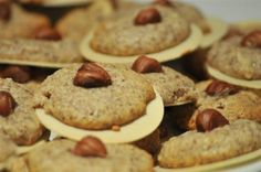 German Hazelnut Macaroons (in German Haselnussmakronen)are a classic German recipe for the Holiday season.Germany is known for its unique and delicious Christmas Bakery.