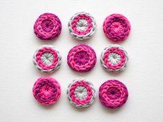 Tutorial: cool crochet buttons