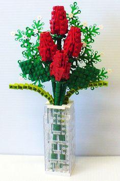 Lego bouquet