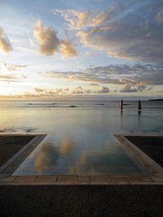 Infinity Pool at Fiji Resort