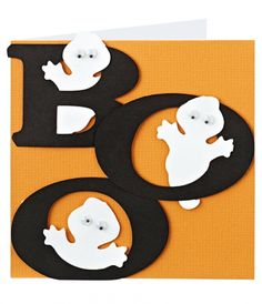 Free how-to: Ghost card for Halloween! http://www.themakingspot.com/card-making/how-to/ghost-halloween-card