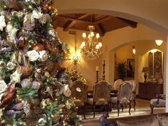 Christmas Home Decor And Christmas Tree Decorating Ideas ~ Stylishly Home