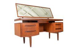 Mid Century Modern G Plan Fresco Desk Vanity