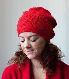 Haakpatroon: POP Hat (gehaakte slouchy muts). €5,00, via Etsy.