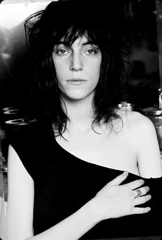 Patti Smith created the punk rock look, with ripped and shredded clothing. (p.33)