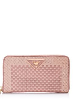 Prada Madras Zip-Around Wallet  HK$3,722