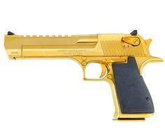 Magnum Research Desert Eagle, .50 AE, Titanium Gold - Style # DE50TG, MRI Shop / Firearms