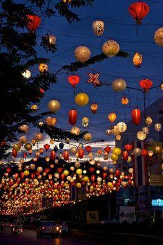 Lanterns in Hua Hin, Thailand