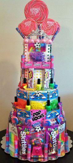 "Candy Birthday ""Cake"""