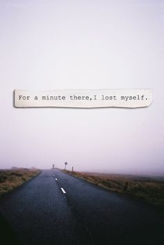 I'm not lost anymore