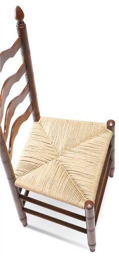 Rush Seat Weaving Tutorial