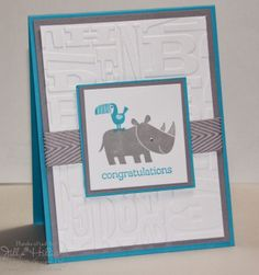 Jill's Card Creations: For baby