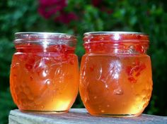 Chile pepper jelly!