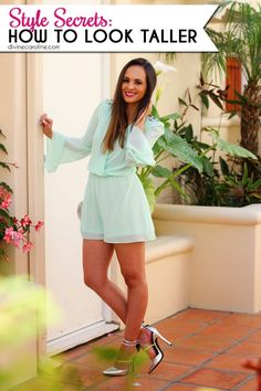 Get the illusion of never-ending legs with these great style blogger fashion tips! #style
