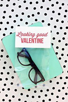 looking good printable valentine by @Melanie Bauer Bauer Blodgett for Julep