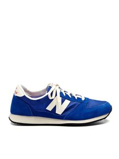 Blue clothes win EVERY time: M390 Low Top Sneakers by New Balance on Park & Bond