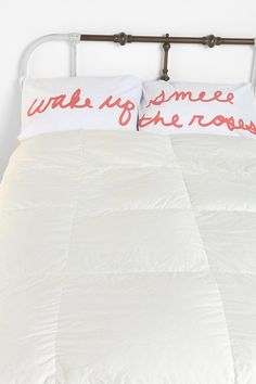 Smell the Roses Pillowcase Set - Urban Outfitters