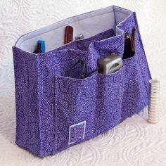 free sewing wallet patterns | pdf Sewing Pattern Purse Organizer Insert by SweetbriarStudio