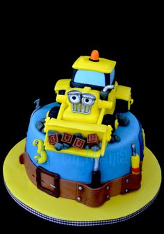 Scoop, Bob the Builder Cake