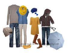 Photo Shoot Wardrobe Inspiration