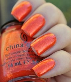 This would be a cool nail color for Halloween