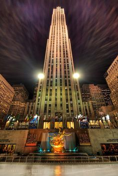 Trey Ratcliff. Rockefeller Center, NYC.  One of the best photographers of our time.