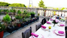 dinner parties, rooftop dinner, anniversari parti, parti idea