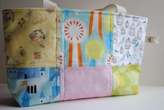 """1/4"""" mark: Baby Patchwork Tote"""
