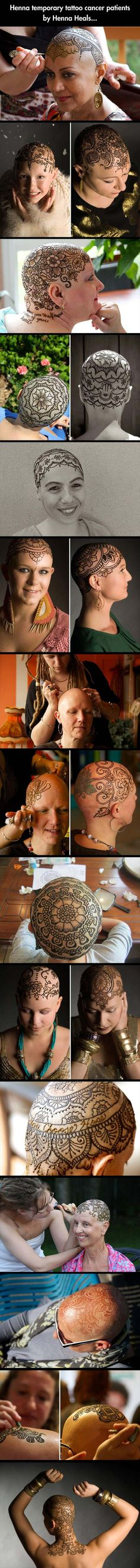 Amazing Henna For Cancer Patients - 14 Pics