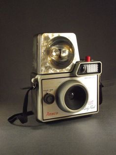 Mod Ansco 127 Ready Flash Camera with Flash and Case