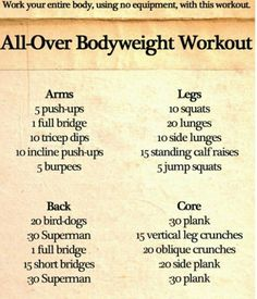 Body by vi challenge workout