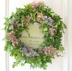 craft, sweet, pretti wreath, flower wreath, guirlanda, spring wreath, kransen, wreaths, door wreath