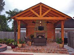 outdoor rooms, hous idea, outdoor living spaces, outdoor live, living areas, live area, outside living area