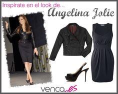 Te gusta el estilo de Angelina Jolie? Te traemos un look inspirado en ella :) #moda #venca #fashion