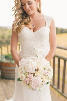 Photography: Carlie Statsky Photography - carliestatsky.com  Read More: http://www.stylemepretty.com/little-black-book-blog/2014/06/11/elegant-thomas-fogarty-winery-wedding/